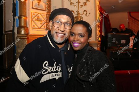 Stock Image of Kool Herc and Lauryn Hill