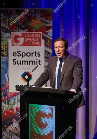 Stock Photo of Edward Henry Butler Vaizey, Government Minister of State for Culture, Communications and Creative Industries