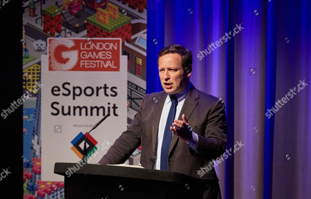 Stock Image of Edward Henry Butler Vaizey, Government Minister of State for Culture, Communications and Creative Industries