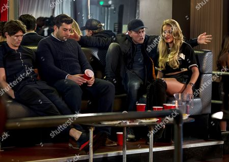 Jake Hall, James Argent, Tommy Mallet and Georgia Kousoulou.