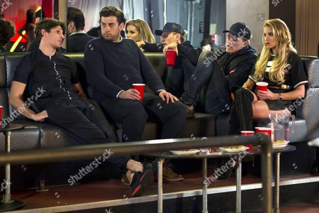 Jake Hall, James Argent, Tommy Mallet and Georgia Kousoulou