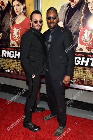 Stock Photo of Michael Eklund and RZA