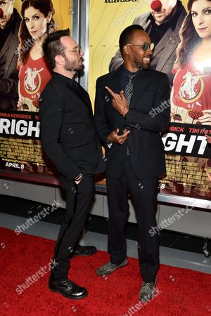 Stock Picture of Michael Eklund and RZA