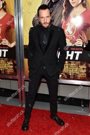 Editorial photo of 'Mr. Right' film premiere, New York, America - 06 Apr 2016