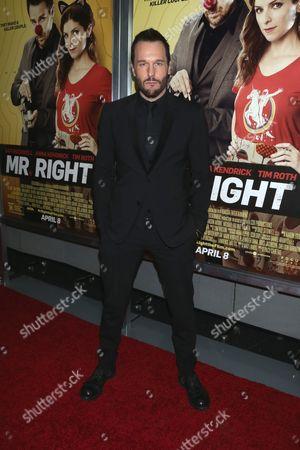 Editorial image of 'Mr. Right' film premiere, New York, America - 06 Apr 2016