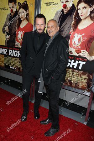 Michael Eklund and producer Michael A. Helfan