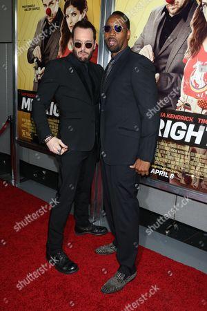 Michael Eklund and RZA