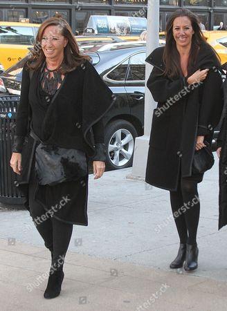 Donna Karan and Gabby Karan De Felice