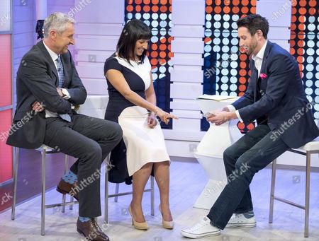 Mark Austin and Ranvir Singh with Jamie Raven