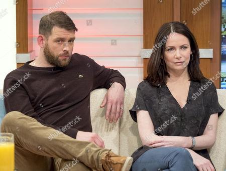 Chris Coghill and Clare Calbraith
