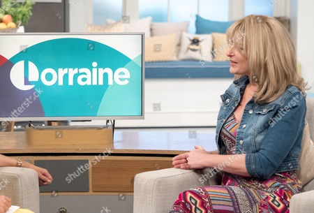 Editorial image of 'Lorraine' TV show, London, Britain - 07 Apr 2016
