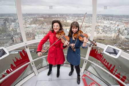 Editorial picture of Menuhin Competition photocall, London Eye, Britain - 07 Apr 2016