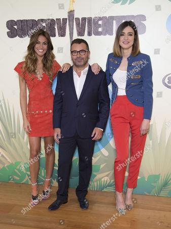 Lara Alvarez, Jorge Javier Vazquez and Sandra Barneda