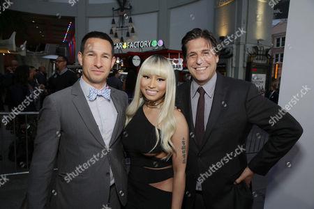 Adam Rosenberg, Nicki Minaj, Jonathan Glickman