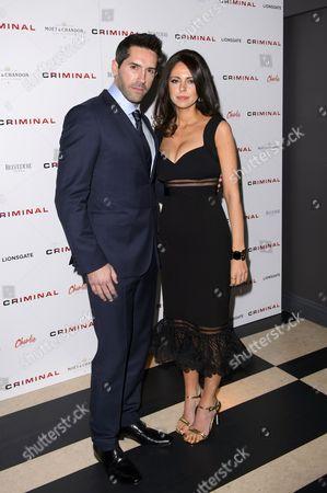 Scott Adkins with Lisa Adkins