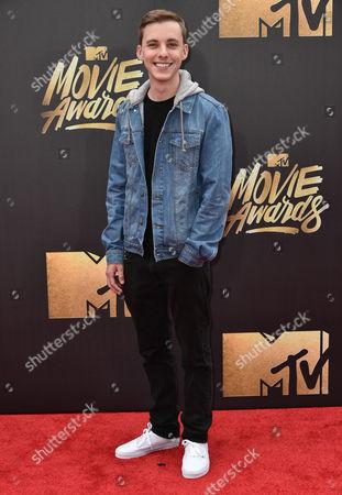 Editorial photo of MTV Movie Awards, Arrivals, Los Angeles, America - 09 Apr 2016