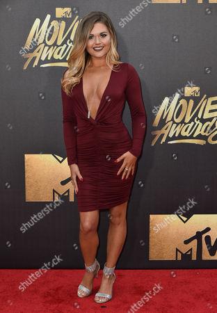 Editorial image of MTV Movie Awards, Arrivals, Los Angeles, America - 09 Apr 2016