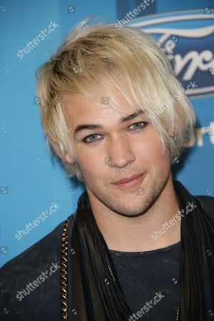 Stock Picture of James Durbin