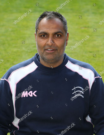 Middlesex Women's Coach Sanjay Patel during the Middlesex CCC Press Day at Lord's Cricket Ground on 8th April 2016