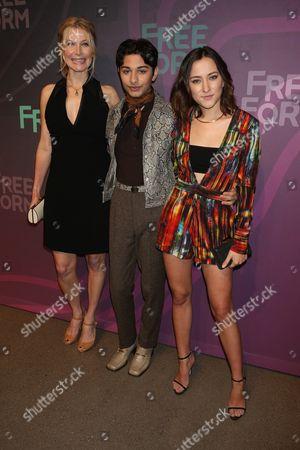 Elizabeth Mitchell, Mark Indelicato, and Zelda Williams