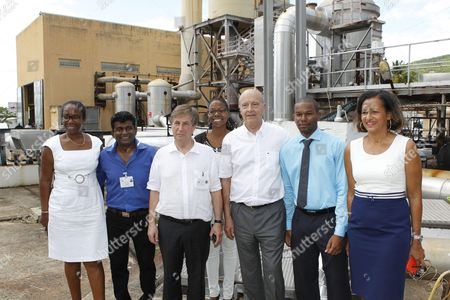 Editorial picture of Alain Juppe in Guadeloupe - 08 Apr 2016