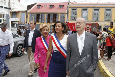 Editorial image of Alain Juppe in Guadeloupe - 08 Apr 2016