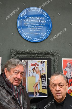 Editorial photo of Mary Millington 'blue' plaque unveiling, London, Britain - 07 Apr 2016