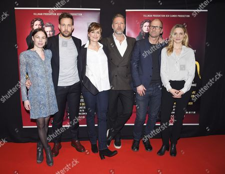 Editorial photo of 'Macbeth' photocall at the Maximteatern, Stockholm, Sweden - 07 Apr 2016