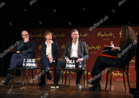 Editorial image of 'Macbeth' photocall at the Maximteatern, Stockholm, Sweden - 07 Apr 2016