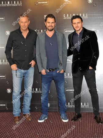 Kevin Costner, Ariel Vromen and Emil Dragos Savulescu