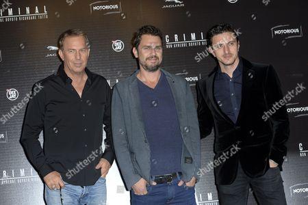 Kevin Costner, Ariel Vromen, Emil Dragos Savulescu