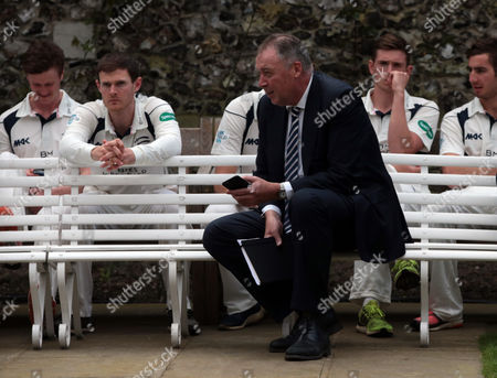 Middlesex's Director of Cricket Angus Fraser  during Middlesex CCC Press Day at Lord's Cricket  Ground, London, Britain 08 April 2016