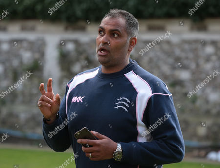 Stock Picture of Middlesex Women Coach Sanjay Patel  during Middlesex CCC Press Day at Lord's Cricket  Ground, London, Britain 08 April 2016