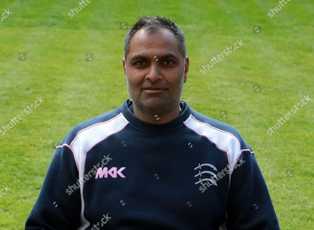 Middlesex's Women Coach Sanjay Patel during Middlesex CCC Press Day at Lord's Cricket  Ground, London, Britain 08 April 2016