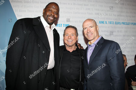 Patrick Ewing, Rowdy Roddy Piper and Mark Messier
