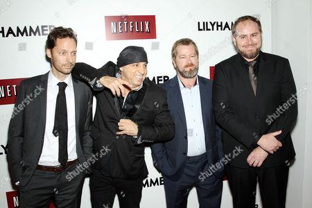 Stock Picture of Trond Fausa, Steven Van Zandt, Fridtjov Saheim, Tommy Karlsen Sandum
