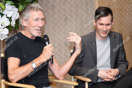 Roger Waters and Sean Evans