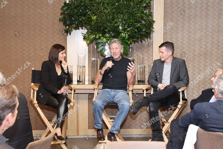 Alyona Minkovski, Roger Waters and Sean Evans