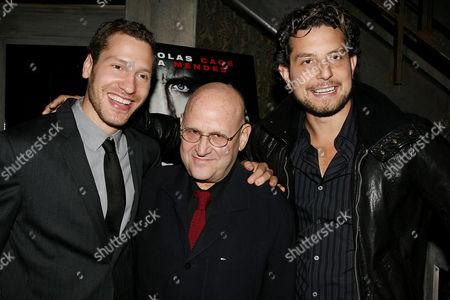 Gabe Polsky, Edward Pressman and Alan Polsky