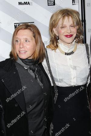 Patty Schemel and Courtney Love