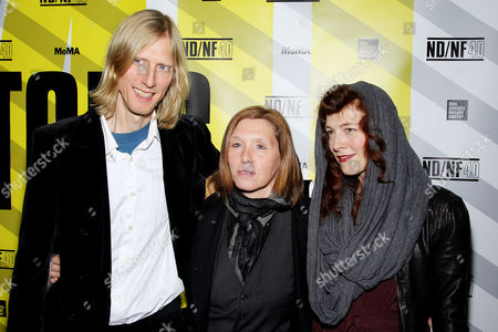 Stock Image of Eric Erlandson, Patty Schemel and Melissa auf der Maur