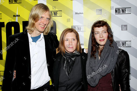 Eric Erlandson, Patty Schemel and Melissa auf der Maur