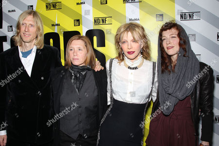 Stock Picture of Eric Erlandson, Patty Schemel, Courtney Love and Melissa auf der Maur