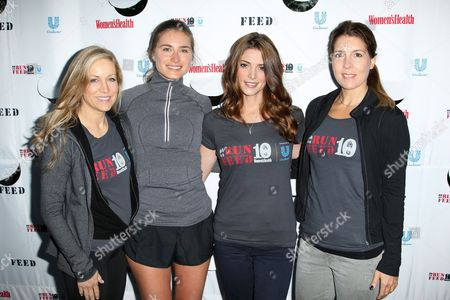 Laura Frerer-Schmidt, Lauren Bush and Ashley Greene
