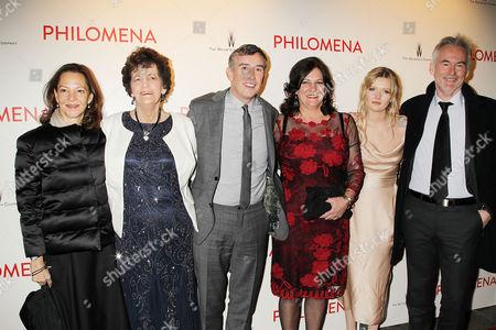 Gabrielle Tana, Philomena Lee, Steve Coogan, Jane Lee, Sophie Kennedy Clark