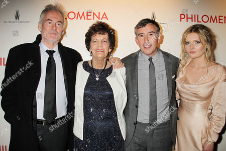 Martin Sixsmith, Philomena Lee, Steve Coogan and Sophie Kennedy Clark