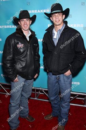 Kody Lostroh and J.B. Mauney, 2009 Professional Bull Rider World Champion