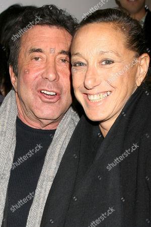 Sandy Gallin and Donna Karan
