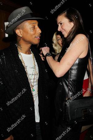 Pharrell Williams and Jill Demling