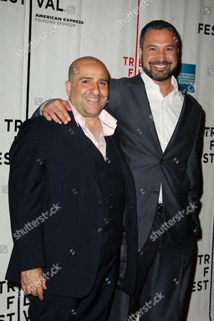 Omid Djalili and Ahmed Ahmed
